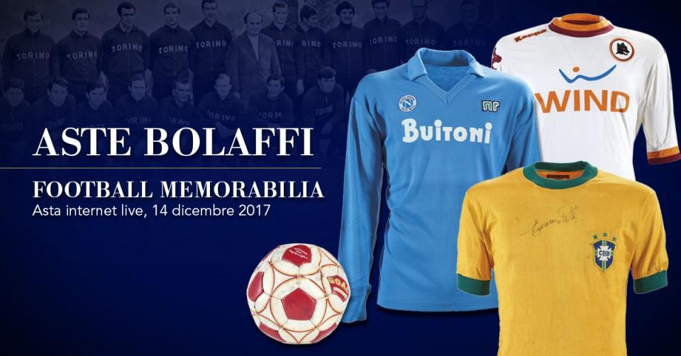 Asta live: Football Memorabilia | Aste Bolaffi